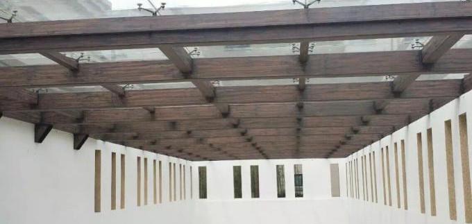 车库钢结构木纹漆