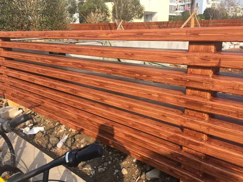 钢结构木纹漆