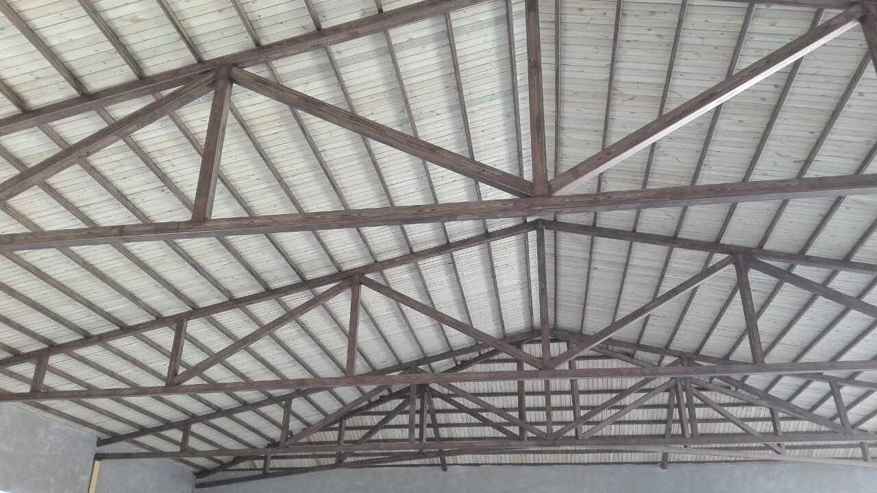 顶棚不锈钢木纹漆